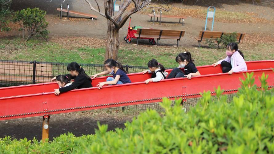 小金井公園 ローラー滑り台