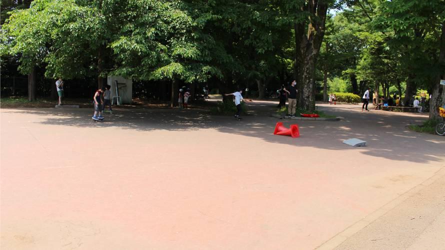 小金井公園 ローラースケート・スケボー練習場