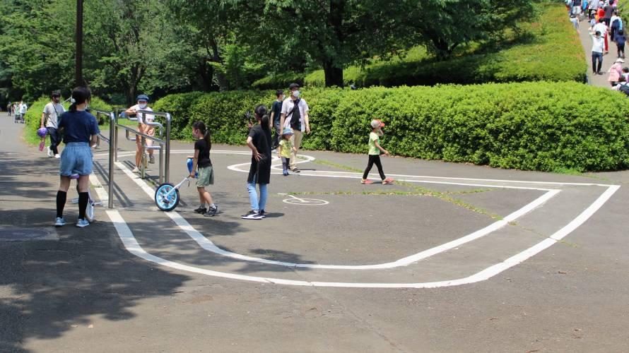 一輪車練習場所 小金井公園