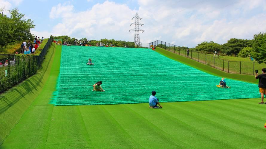 芝ソリ 小金井公園